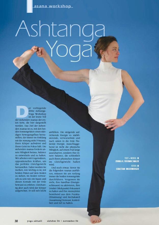 Yoga aktuell - Asana Workshop Ausgabe 40