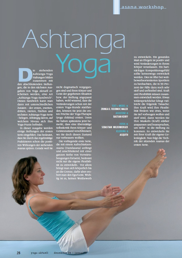 Yoga aktuell - Asana Workshop Ausgabe 41