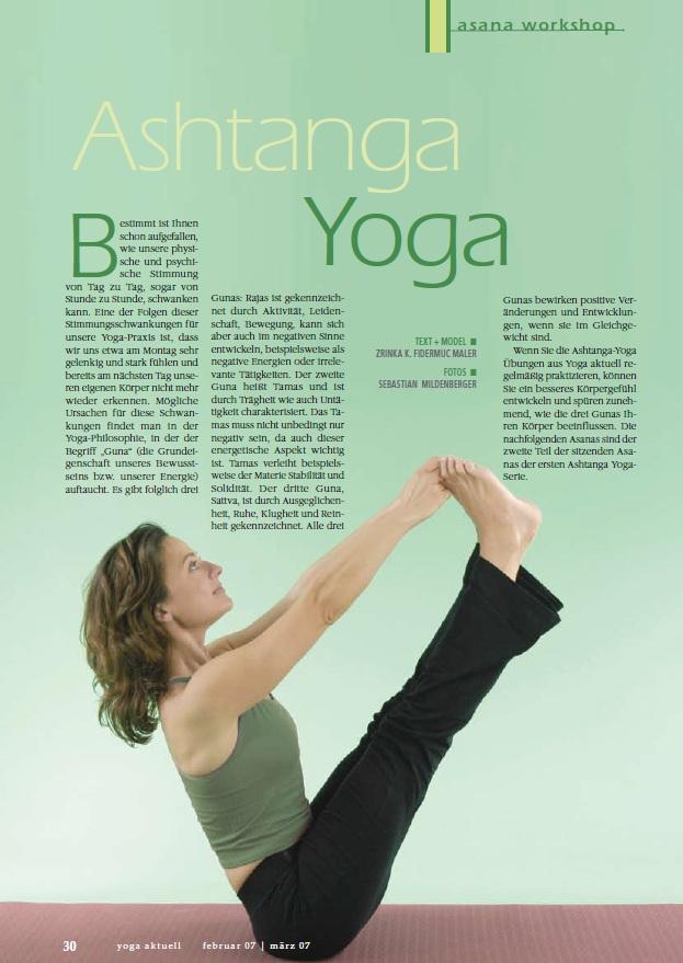 Ashtanga Yoga Presse Veroffentlichungen Empowerment By Dr Zrinka