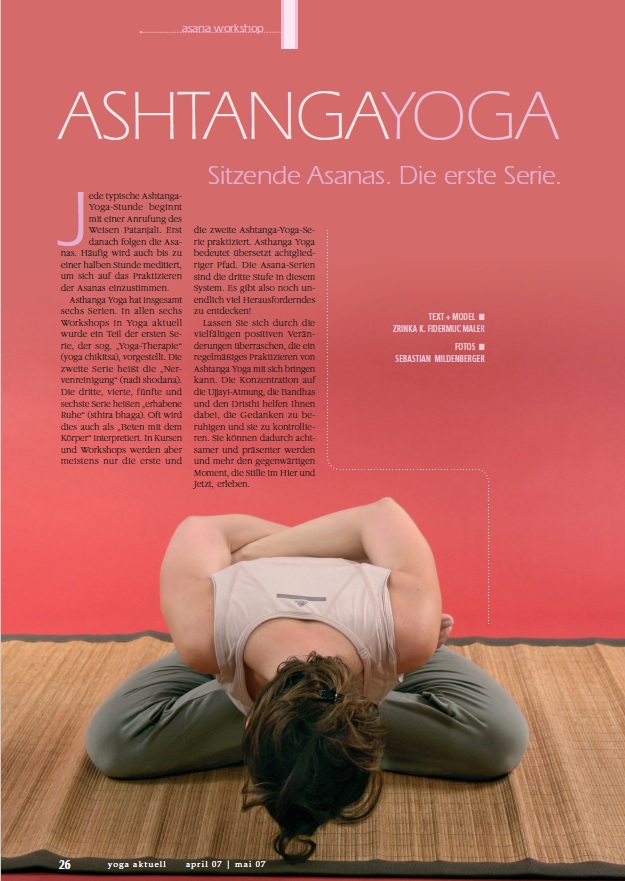 Yoga aktuell - Asana Workshop Ausgabe 43
